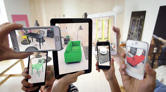 Companies Using Augmented Reality (AR)