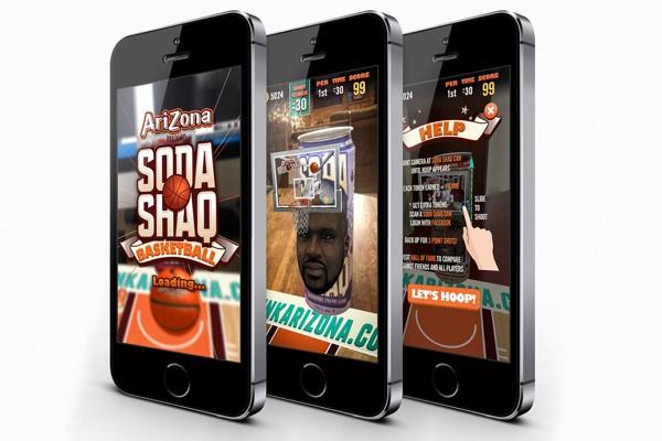 Soda Shaq Basketball Mobile Game