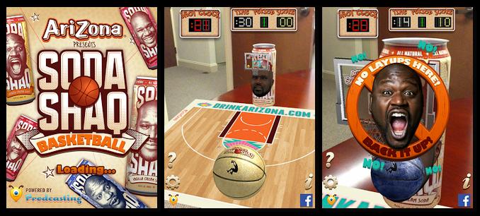 Augmented Reality Basketball