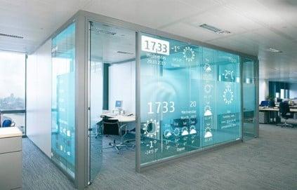 Interactive Office Walls