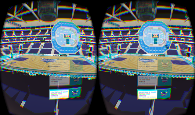 Virtual Reality for Live Events